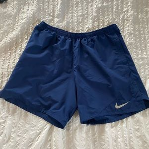 Blue Nike Running Shorts. Size XL.